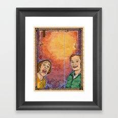 Us And Them (aka. Lovers) Framed Art Print