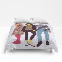 Individuals Void of Meaning Comforters