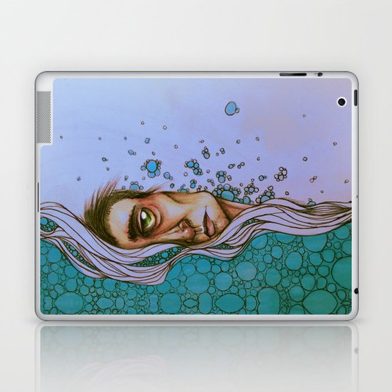 Floating On By Laptop & iPad Skin
