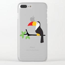 Bird Native birds songbird toucan gift Clear iPhone Case
