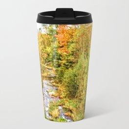 A New Hampshire Autumn Travel Mug