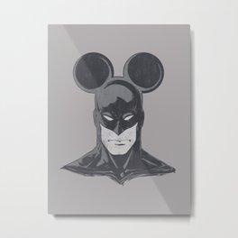 BATMOUSE Metal Print