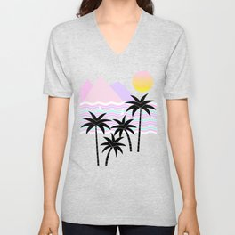 Hello Islands - Sunny Shores Unisex V-Neck