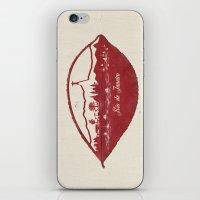 rio de janeiro iPhone & iPod Skins featuring Rio de Janeiro Skyline by Paula Belle Flores