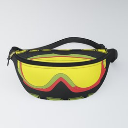 snowboarding snow goggles boarder sport Fanny Pack