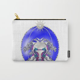Sea Horse Kiss Carry-All Pouch