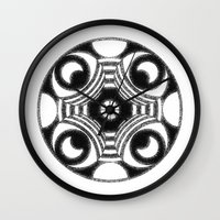 native Wall Clocks featuring native by Andy Kemp