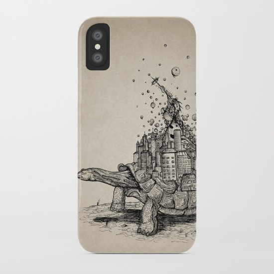 Tortoise Town iPhone Case