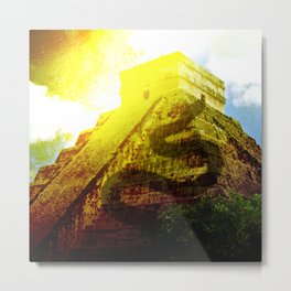 Temple of the Snake Metal Print