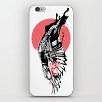 hustle iPhone & iPod Skins featuring hustle by KUI29