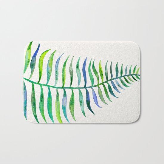 Palm Leaf – Green Palette Bath Mat