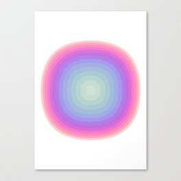#716 Breathe In Breathe Out Canvas Print
