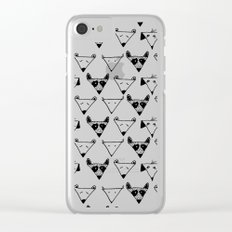 perro pattern Clear iPhone Case