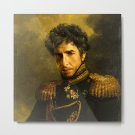 Bob Dylan - replaceface Metal Print