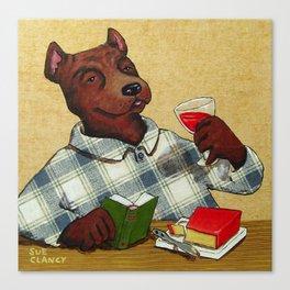 A Gouda Dog Canvas Print