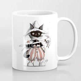 Black Mage Black Cat Coffee Mug