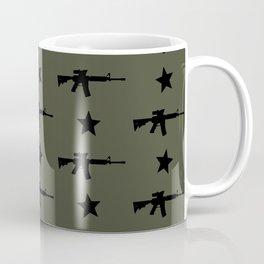 M4 Assault Rifle Pattern Coffee Mug