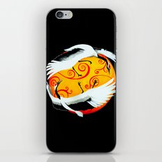 Japanese (Red-Crowned) Cranes iPhone & iPod Skin