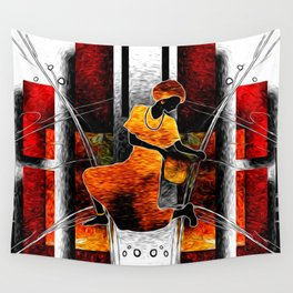 African Dance Wall Tapestry
