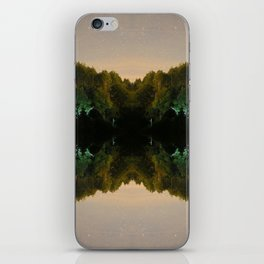 Perfect Reflection iPhone Skin