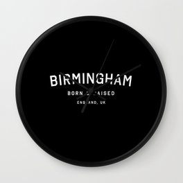 Birmingham - ENG, UK (Arc) Wall Clock