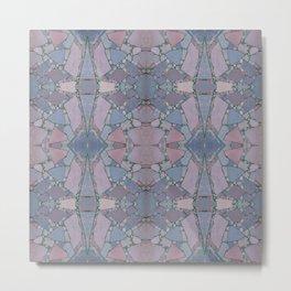 Pink and Purple Kaleidoscope Mandala 793 Metal Print
