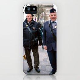 Parisian Mugshots - Proud Veterans (Gueules de Parisiens) iPhone Case