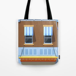 Day at the Movies Tote Bag