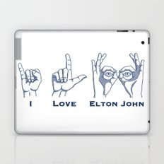 I Love Elton V2 Laptop & iPad Skin