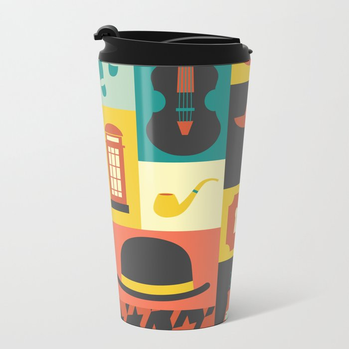 Sherlock Metal Travel Mug