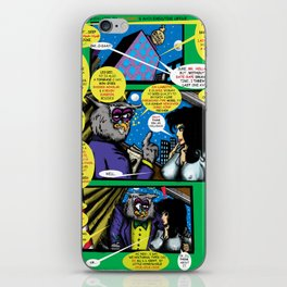 Bird of Steel Comix – 6 of 8 (Society 6 POP-ART COLLECTION SERIES)   iPhone Skin