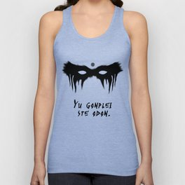 Your Fight Is Over (Trigedasleng) Unisex Tank Top