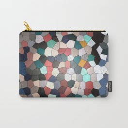 Colorful Mosaik Pattern Design Carry-All Pouch