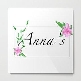 Personalised gift ideas.names Metal Print