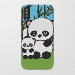 Panda Sweetness iPhone Case
