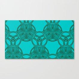 pattern azbuki 2 Canvas Print