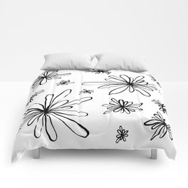Energy Flowers Comforters