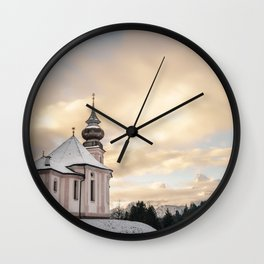 Church in Bavaria Germany Wall Clock