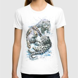 Little snow leopards T-shirt