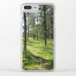 Brerton Lake Clear iPhone Case