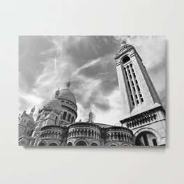 The Sacre Coeur at Montmartre Metal Print