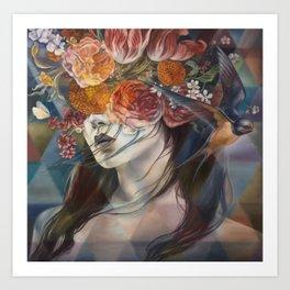 Midnight Muse Art Print