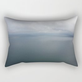 Fog over water Rectangular Pillow