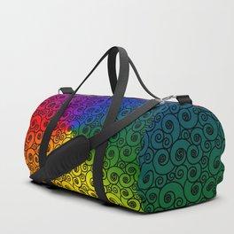 Elegant Triskelions Duffle Bag