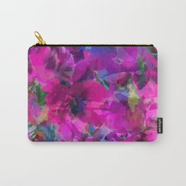 Pink Poppy Jungle Carry-All Pouch
