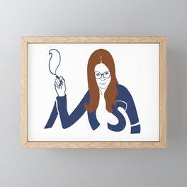 Mrs. America Framed Mini Art Print