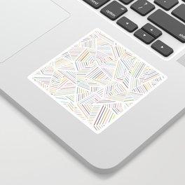 Ab Linear Rainbowz Sticker