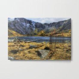 Llyn Idwal Metal Print
