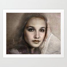 The Wayalay Girl Art Print