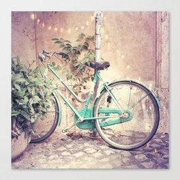 Bicycle Lights Canvas Print
